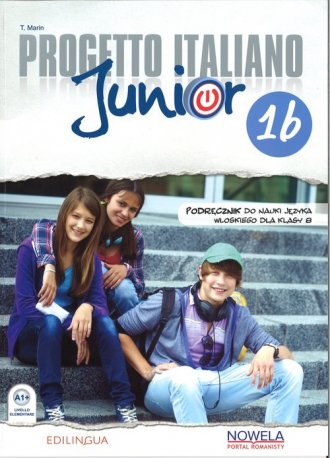 Progetto Italiano Junior 1B PW - okładka podręcznika