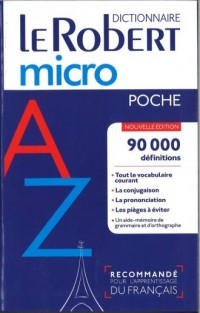 Robert micro poche - okładka podręcznika