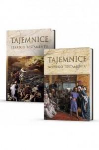 Tajemnice StaregoTestamentu / Tajemnice Nowego Testamentu. PAKIET - okładka książki