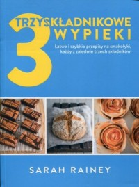 Trzyskładnikowe wypieki - okładka książki