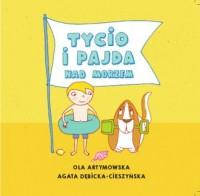 Tycio i Pajda nad morzem - okładka książki