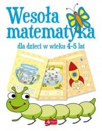 Wesoła matematyka dla dzieci w wieku 4-5 lat - okładka podręcznika
