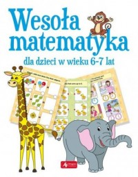 Wesoła matematyka dla dzieci w wieku 6-7 lat - okładka podręcznika