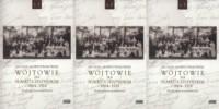Wójtowie na Śląsku Cieszyńskim 1864-1918 Tom 1-3. Studium prozopograficzne - okładka książki
