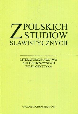 Z polskich studiów slawistycznych - okładka książki