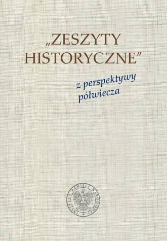Zeszyty Historyczne z perspektywy - okładka książki