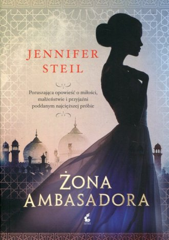 Żona ambasadora - okładka książki