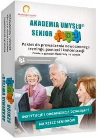 Akademia Umysłu Senior wersja Edukacyjna. Pakiet do prowadzenia nowoczesnego treningu pamięci i koncentracji - pudełko programu