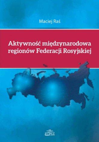 Aktywność międzynarodowa regionów - okładka książki