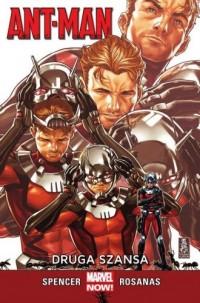 Ant-Man Druga szansa - okładka książki