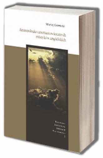 Antropologia czternastowiecznych - okładka książki