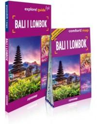 Bali i Lombok 2w1: przewodnik light + mapa - okładka książki