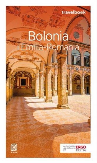 Bolonia i Emilia-Romania. Travelbook - okładka książki