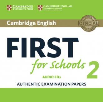 Cambridge English First for Schools - pudełko programu