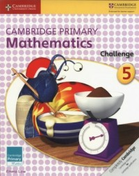 Cambridge Primary Mathematics Challenge 5 - okładka podręcznika