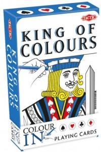 Classic Color-In Playing 55 kart do kolorowania - okładka książki