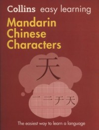 Collins Easy Learning Mandarin Chinese Characters - okładka książki