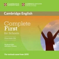 Complete First for Schools Class Audio 2CD - pudełko programu