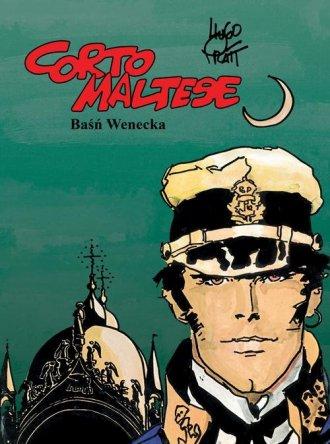 Corto Maltese. Tom 7. Baśń wenecka - okładka książki