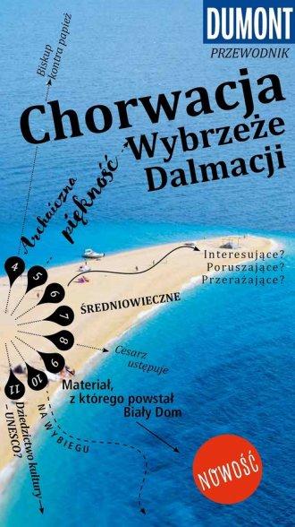 Corwacka Riwiera -Dalmacja. Przewodnik - okładka książki