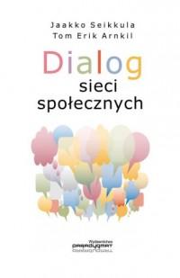 Dialog sieci społecznych - okładka książki