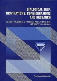 Dialogical Self: Inspirations, Cosiderations and Research. Seria: Prace Wydziału Nauk Społecznych 175 - okładka książki