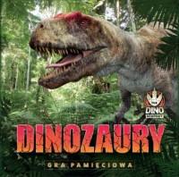Dinozaury Gra pamięciowa. Gra pamięciowa - okładka książki