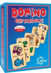 Domino obrazkowe zwierzęta - okładka książki