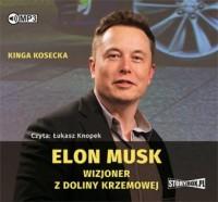 Elon Musk. Wizjoner z Doliny Krzemowej - okładka płyty
