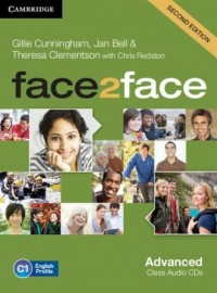 face2face Advanced Class Audio 3CD - pudełko programu
