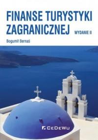 Finanse turystyki zagranicznej - okładka książki