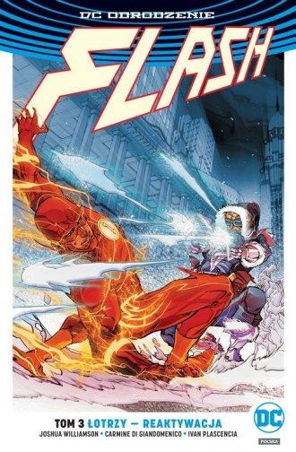 Flash T.3. Łotrzy reaktywacja/DC - okładka książki