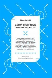 Gatunki cyfrowe Instrukcja obsługi - okładka książki