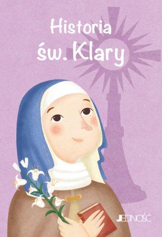 Historia św. Klary - okładka książki