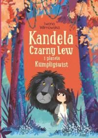 Kandela Czarny Lew i planeta Kumligświst - okładka książki