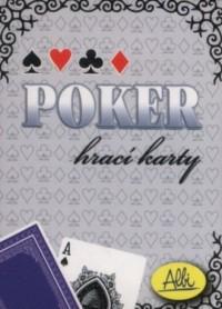 Karty do pokera niebieskie - zdjęcie zabawki, gry