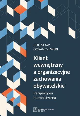 Klient wewnętrzny a organizacyjne - okładka książki