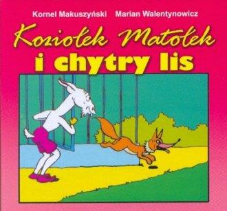 Koziołek Matołek i chytry lis - okładka książki