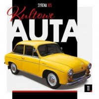 Kultowe Auta 11 Syrena 105 - okładka książki