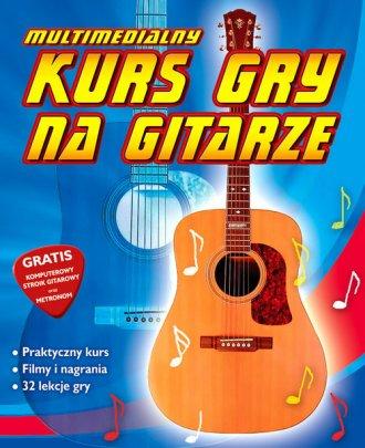 Kurs gry na gitarze - pudełko programu
