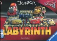 Labirynt Junior Auta 3 - okładka książki