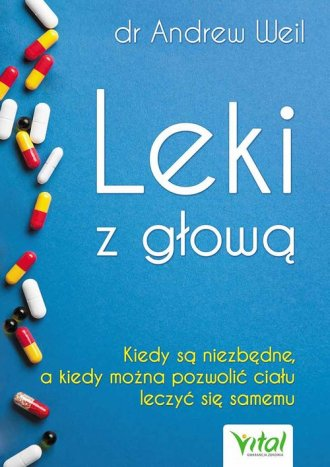 Leki z głową - okładka książki
