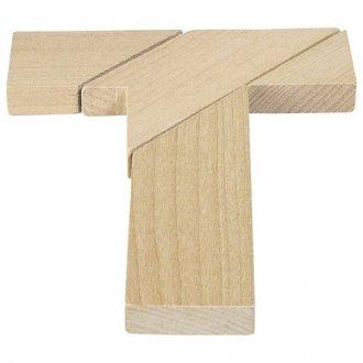 Litera T układanka logiczna - zdjęcie zabawki, gry