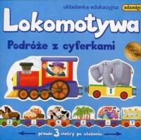 Lokomotywa Podróże z cyferkami - zdjęcie zabawki, gry