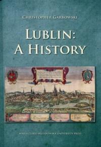 Lublin A history - okładka książki
