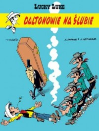 Lucky Luke. Daltonowie na ślubie - okładka książki