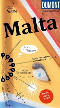 Malta. Przewodnik Dumont z mapą - okładka książki