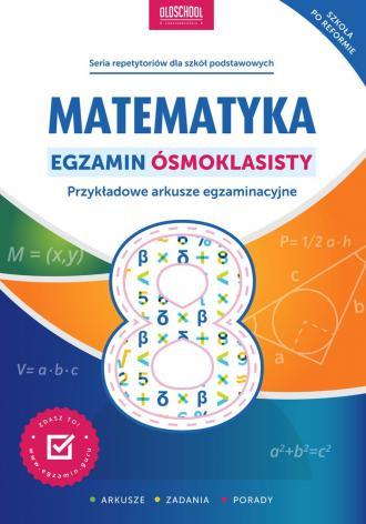 Matematyka. Egzamin ósmoklasisty. - okładka podręcznika
