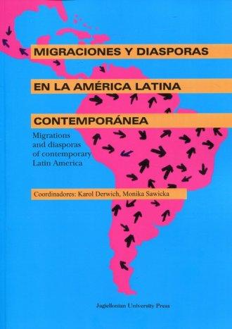 Migraciones y diasporas en la America - okładka książki