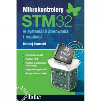 Mikrokontrolery STM32 w systemach - okładka książki